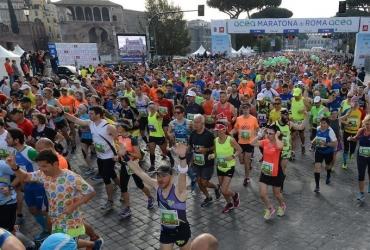 APA Affissioni realizza l'allestimento della 24ᵃ edizione della Maratona di Roma 2018
