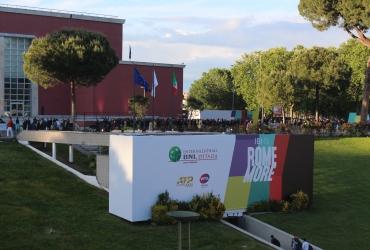 APA Affissioni allestisce gli Internazionali BNL d'Italia